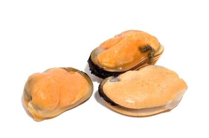 Muschelfleisch säuerlich mariniert