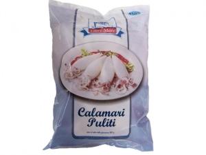 Gereinigte Calamari im 1kg Paket