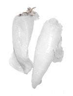 Calamari Loligo formosana geputzt