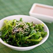 Wakame - ein delikater Seegras-Salat