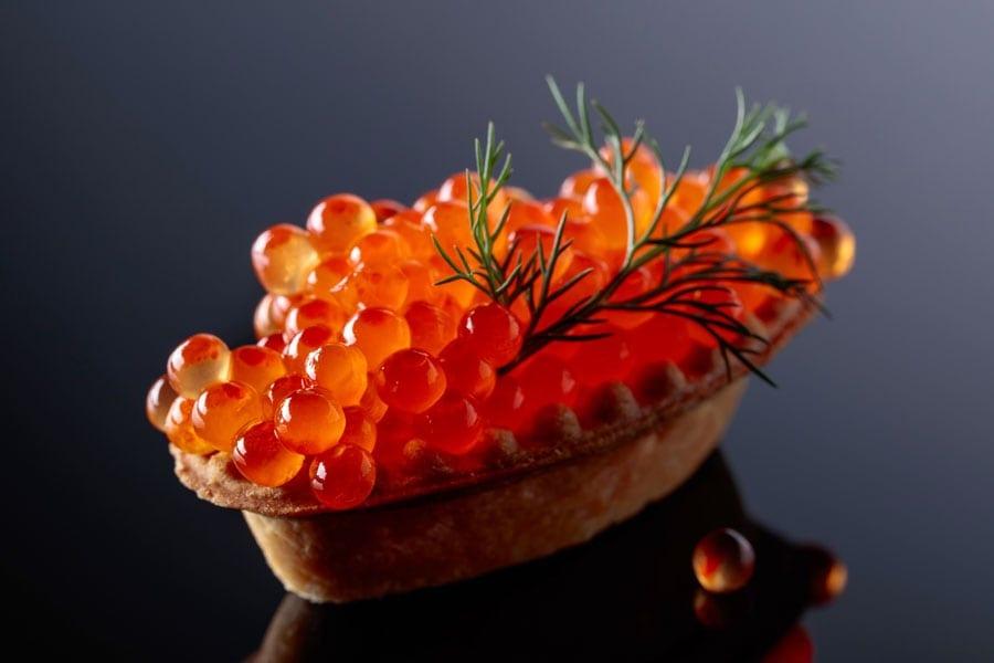 Fischrogen ist gesund und schmeckt