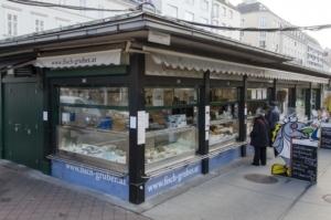 Fisch-Gruber am Wiener Naschmarkt