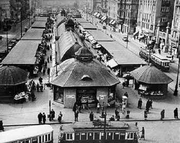 Der Naschmarkt um 1938