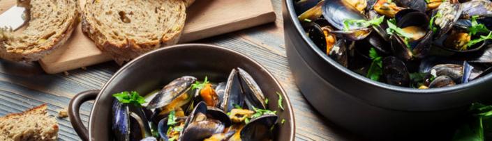 Frische Muscheln erkennen und zubereiten - Tipps von Fisch-Gruber