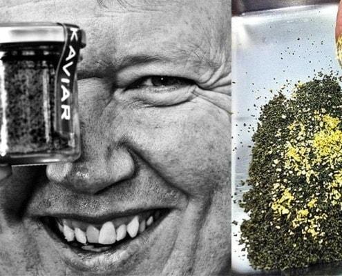 Trottarga und Strottarga von Walter Grüll - dehydrierter Kaviar aus Salzburg!
