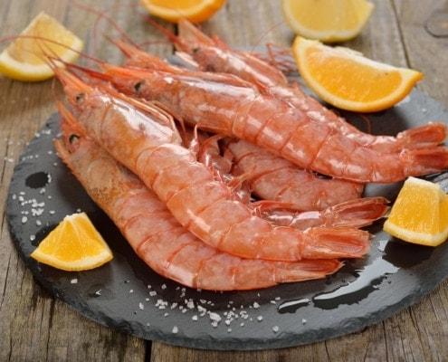 Argentinische Garnelen von Fisch-Gruber - ein Genuss!