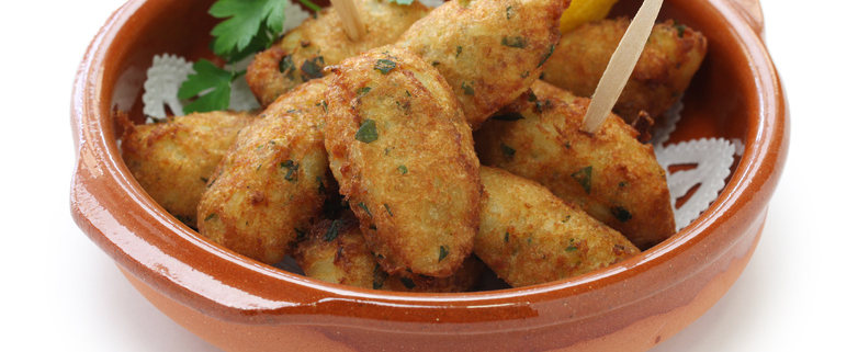 Pastéis de Bacalhau – Portugiesische Stockfischbällchen