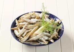 Italienischer Fenchelsalat mit frittierten Sprotten