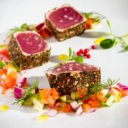Thunfisch aus Asiagemüse