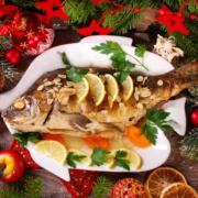 Der Weihnachtskarpfen ist fixer Bestandteil (ost-)österreichischer Weihnachtstafeln!