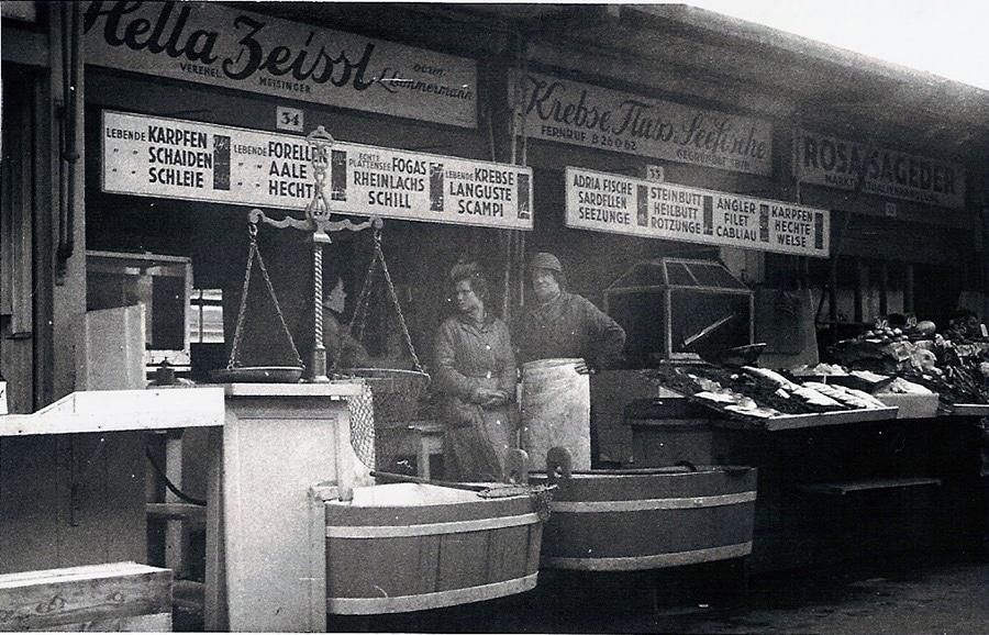 Das Geschäft in den 1960er Jahren