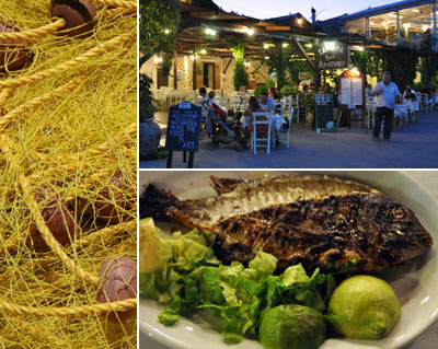 Fisch und Fischerei in Lefkada-Griechenland
