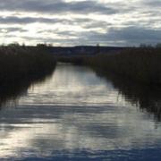 Kanal im Schilfgürtel des Neusiedlersees