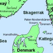 Skagerrak und Kattegat.