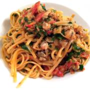 Spaghetti Vongole - Nudeln mit Venusmuscheln