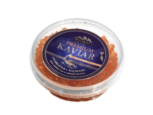 Kamtschatka Kaviar vom Wildlachs - jetzt bei Fisch-Gruber kaufen
